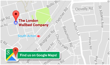 The London wallbed Company - Find us on Google Maps
