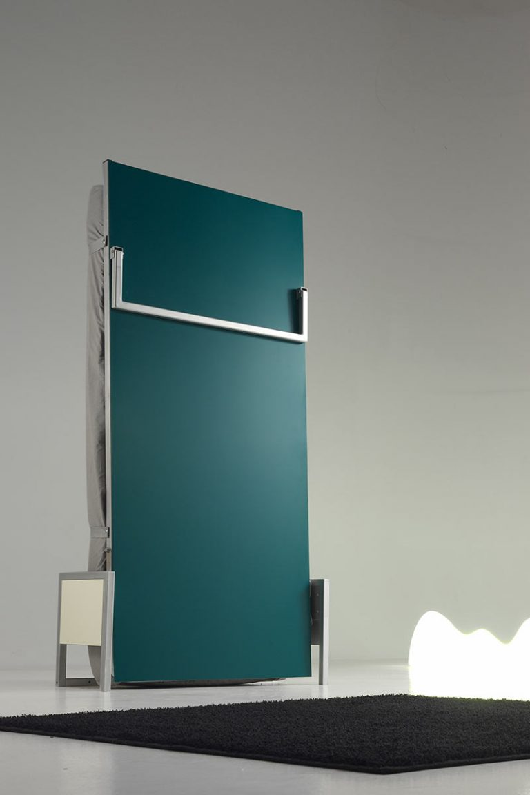 CuBed Vertical Self Assembly Wallbed from The London Wallbed Company