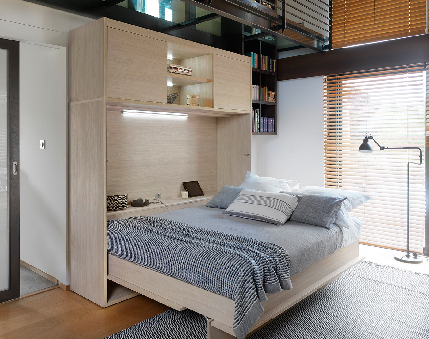 Magik Side Folding Bed The London Wallbed Company
