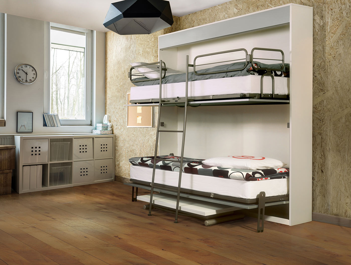 Picture of: Mix Wallbed Bunk Bed The London Wallbed Company