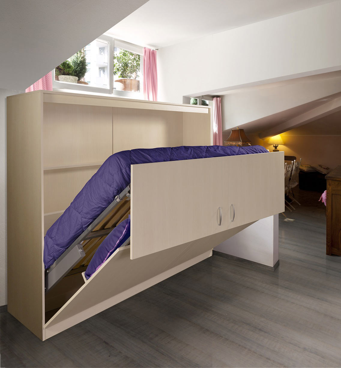 Picture of: Mix Side Folding Bed The London Wallbed Company