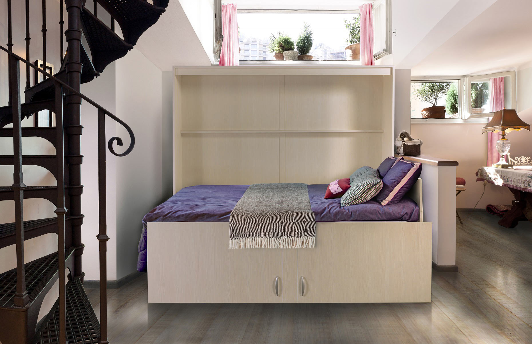 Mix Side Folding Bed The London Wallbed Company