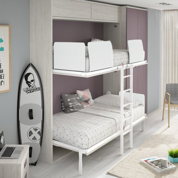 Space Bunk Bed from The London Wallbed Company