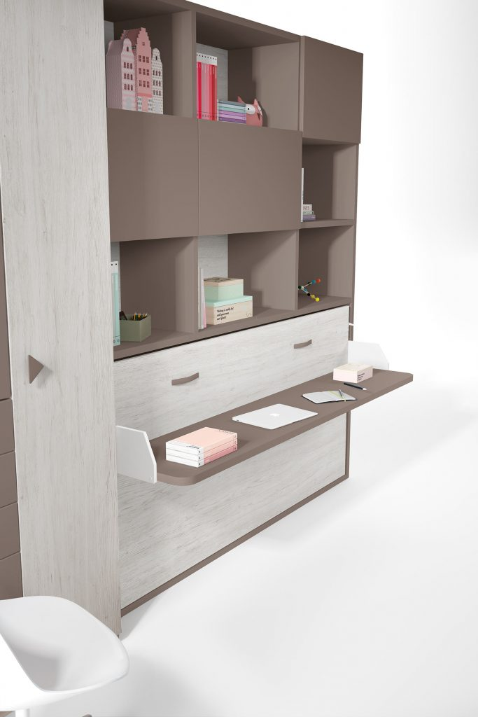 Space Desk Bed from The London Wallbed Company