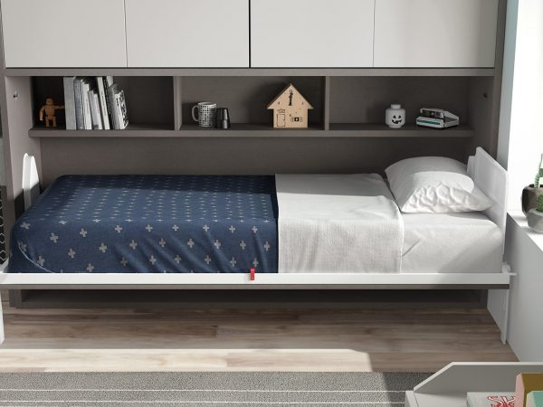 Space Side Folding Bed from The London Wallbed Company