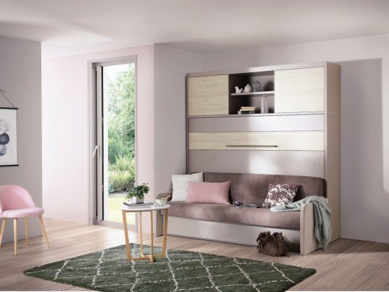 Magik Sofa Wallbed Horizontal from The London Wallbed Company